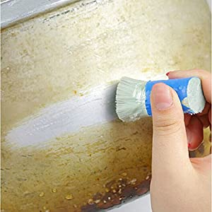 Cleanup Brushwood Cling - 4 Magic Stainless Steel Cleaning Brush Stick Metal Rust Remover - Marijuana Cigarette Light Touch Cohere Encounter Joystick Clash Pin Billy - 1PCs