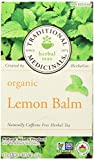Traditional Medicinals Organic Lemon Balm, 20-Count