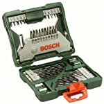 Jogo X-Line Bosch 43 Peças 2607019613-000, Verde