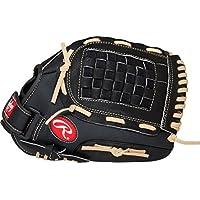 """Rawlings RSB - Guantes de softbol, 33 cm (13""""), Negro, 33.02cm (13'')"""