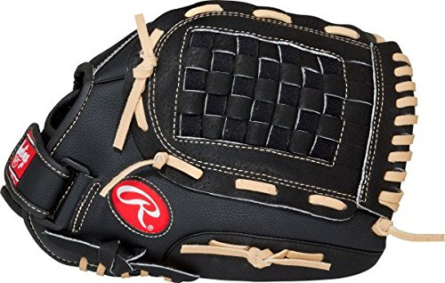 Rawlings RSB Series Baseball Glove, Regular, Slow Pitch, Basket-Web, 13 Inch