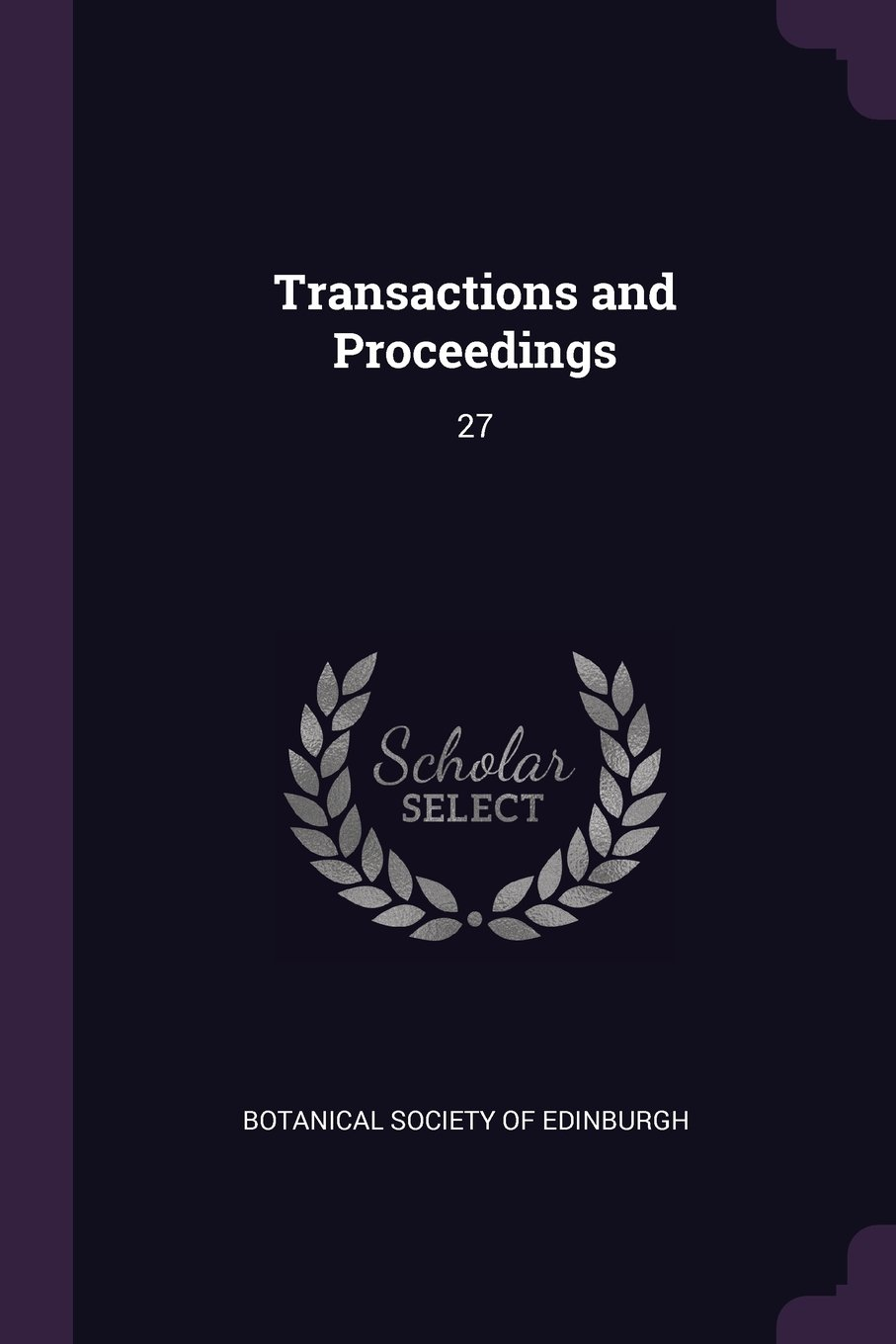 Download Transactions and Proceedings: 27 ebook