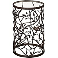 Bird and Branch Accent Table