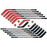 Cosom By Cramer 52 Inch Collegiate Hockey Sticks for Floor Hockey and Street Hockey