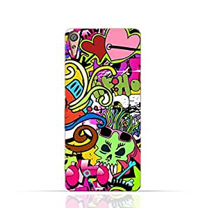 Sony Experia X TPU Silicone Case with graffitii hip hop 2