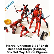 """Review: Marvel Universe 3.75"""" Inch Deadpool Corps (Hasbro) Box Set Toy Action Figures"""