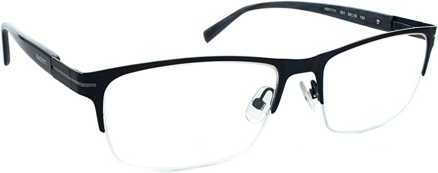 Amazon.com: Hackett London grande Fit hek1111 Mens Eyeglass ...