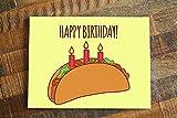 1x Taco Birthday Card