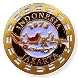 LDS Indonesia Jakarta Mission Commemorative Lapel Pin