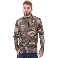 Realtree Men's Long Sleeve 1/4 Performance Shirt