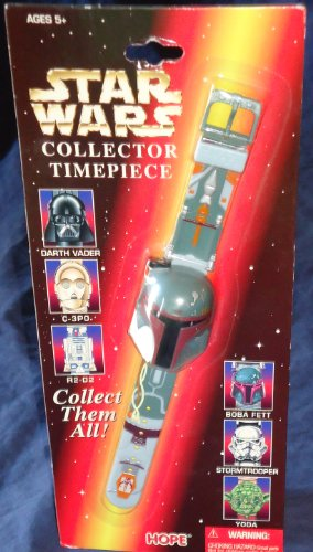- Star Wars Collector Timepiece Watch Boba Fett