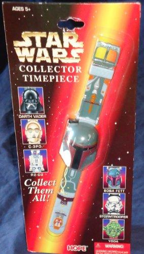 - Star Wars Collector Timepiece Watch Boba Fett