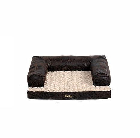 WSS colchón impermeable Quattro stagioni sofá domestico perro cama lavable cucce de invierno Combustible ectonomc,