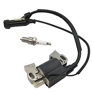 Módulo de bobina de encendido y bujía para GX240 GX270 GX340 GX390 8HP 11HP 13HP Motor