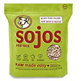 Sojos Pre-Mix Natural Grain Free Dry Raw Freeze Dried Dog Food, 2-Pound Bag