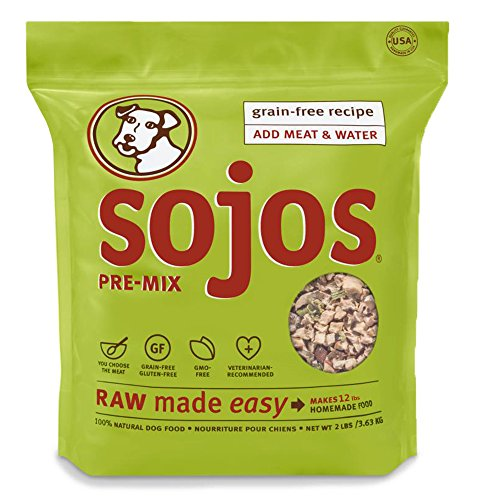 Sojos Pre Mix Natural Food 2 Pound