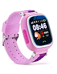 Cewaal Q10 Kids GPS Location Tracker Smart Watch with Multi-Language and Pedometer For Android IOS Phone
