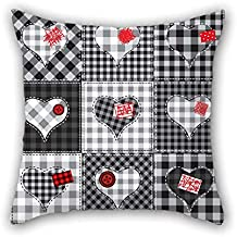 Color Block Cushion Cases 16 X 16 Inches / 40 By 40 Cm Gift Or Decor For Husband Outdoor Gf Play Room Saloon Christmas - Double Sides