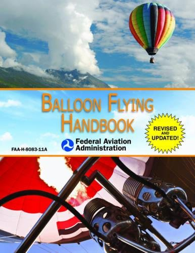 Balloon Flying Handbook  Federal Aviation Administration   Faa H 8083 11A
