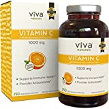 Viva Naturals Premium Non-GMO Vitamin C with Bioflavonoids & Rose Hips, 1000 mg, 250 Veg Caps Review