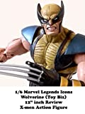Review: 1/6 Marvel Legends Icons Wolverine (Toy Biz) 12