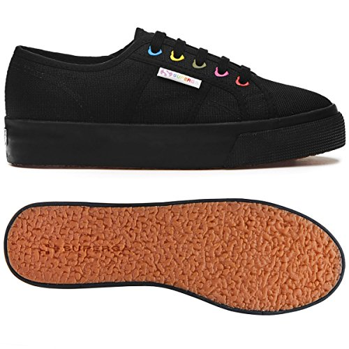 Black cotw Colors Superga 2730 Full Hearts EX6Z5q
