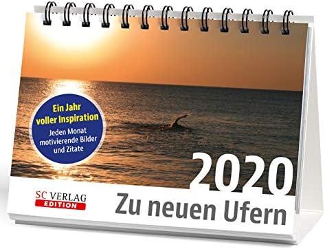 """Monats-Tischkalender 2020 -""""Zu neuen Ufern"""""""
