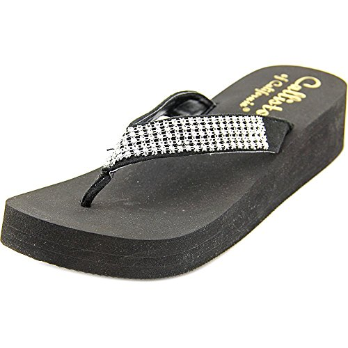 Callisto St. Barth Mujer Us 9 Black Wedge Sandal