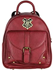 Harry Potter Hogwarts School Crest Faux Leather Mini Backpack