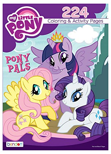 Bendon My Little Pony Pony Pals 224-Page Coloring and Activi
