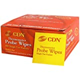 CDN Probe Wipes Packet Thermometer, White