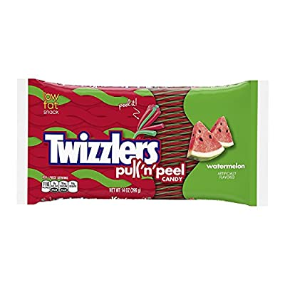 Twizzlers Pull 'n' Peel Candy, 14 Ounce Bags (Pack of 6)