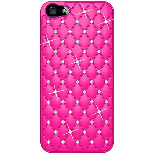 amzer-amz94730-diamond-lattice-snap-on-shell-case-cover-for-apple-iphone-5-iphone-5s-iphone-se-fits-