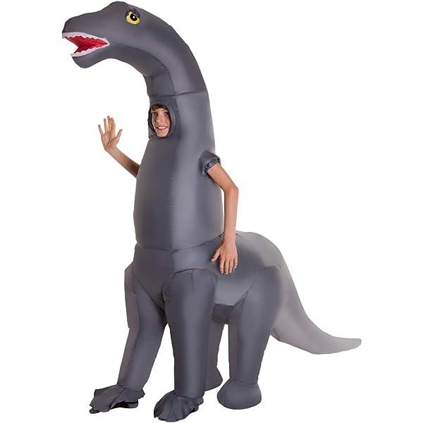 Morph Divertido Disfraz Inflable Diplodocus Dinosaurio Niños - Una ...