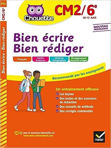 Amazon.com: Bien écrire, bien rédiger CM2/6e (Chouette Entraînement (35))  (French Edition) (9782401061644): Virzi-Roustan, Véronique, Robert,  Yannick: Books