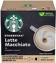 Starbucks by Nescafé Dolce Gusto, Latte Macchiato 12 cápsulas