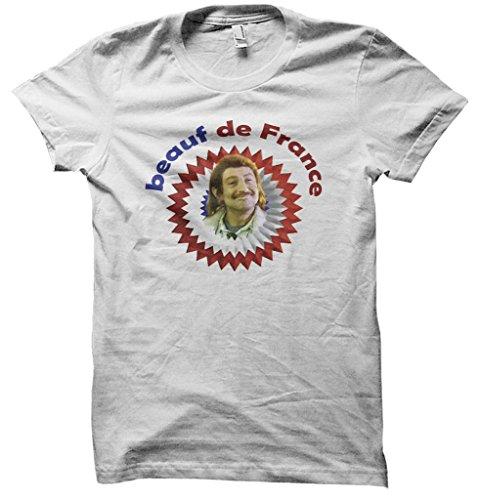 Exceptionnel T-shirt Beauf de France - Cadeau Original, Insolite & Pourri UK01