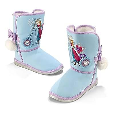 Amazon.com: Disney Store Frozen Anna and Elsa Winter Boots