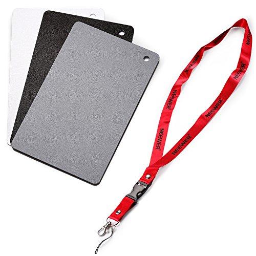 Neewer Digital Grey Card Set - 2