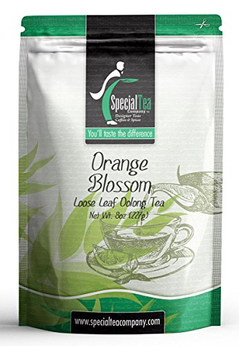 (Special Tea Loose Leaf Tea, Orange Blossom Oolong, 8 Ounce)