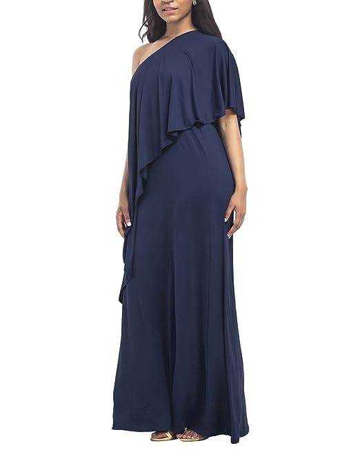 Mujer Vestidos de Fiesta Largos de Noche Elegantes Bohemios Maxi Vestido Verano Para Ceremonia Playas Casual