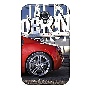 Samsung Galaxy S4 Oah19118xvYJ Allow Personal Design Realistic Audi R8 Pattern Shock-Absorbing Cell-phone Hard Covers -JonathanMaedel