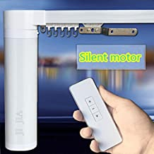 Smart Homes Silent Electric Curtain Track Phone Wifi Remote Control Curtain Rail (125.9in)