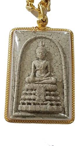 San jewelry Lucky's Charm Prasomdej Wat Rai Khing Wealth Rich Lucky Charm Thai Amulet by San power