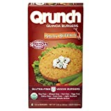 Cheap Qrunch Quinoa Burgers, Saucy Buffalo, 12.8 Ounce (Pack of 06)