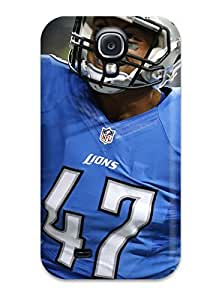 New Detroit Lions Tpu Skin Case Compatible With Galaxy S4