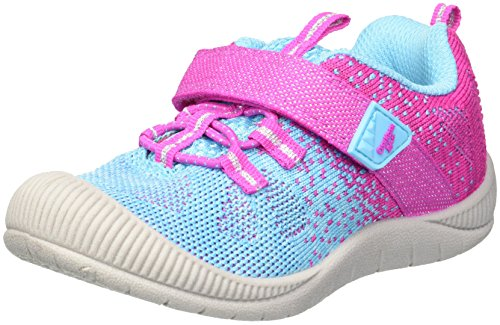 OshKosh B'Gosh Girls' SMACKER Sneaker, Aqua, 5 M US Toddler