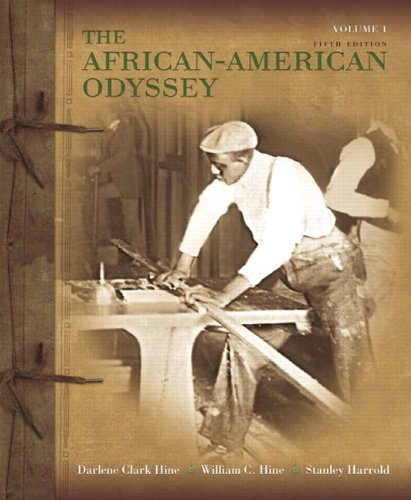 Books : African-American Odyssey, The, Volume 1 (5th Edition)
