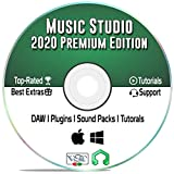 Music Studio 2018: Music Production Software - Best Audio Recording & Editing Software for Windows, Mac, & Linux + Audio Plugins, Tutorials & Guides Bundle