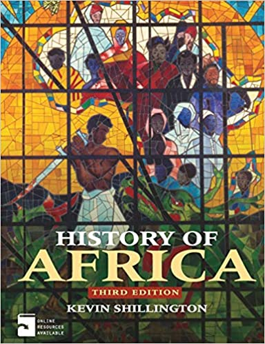 history of africa kevin shillington 3rd edition